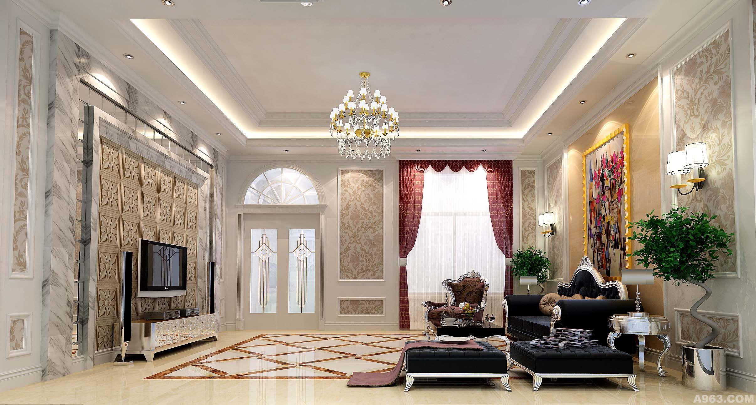 欧式简洁设计 - 别墅豪宅 - 苏州室内设计网_苏州室内