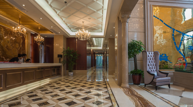 故售楼处室内设计延续欧式风格及表现手法