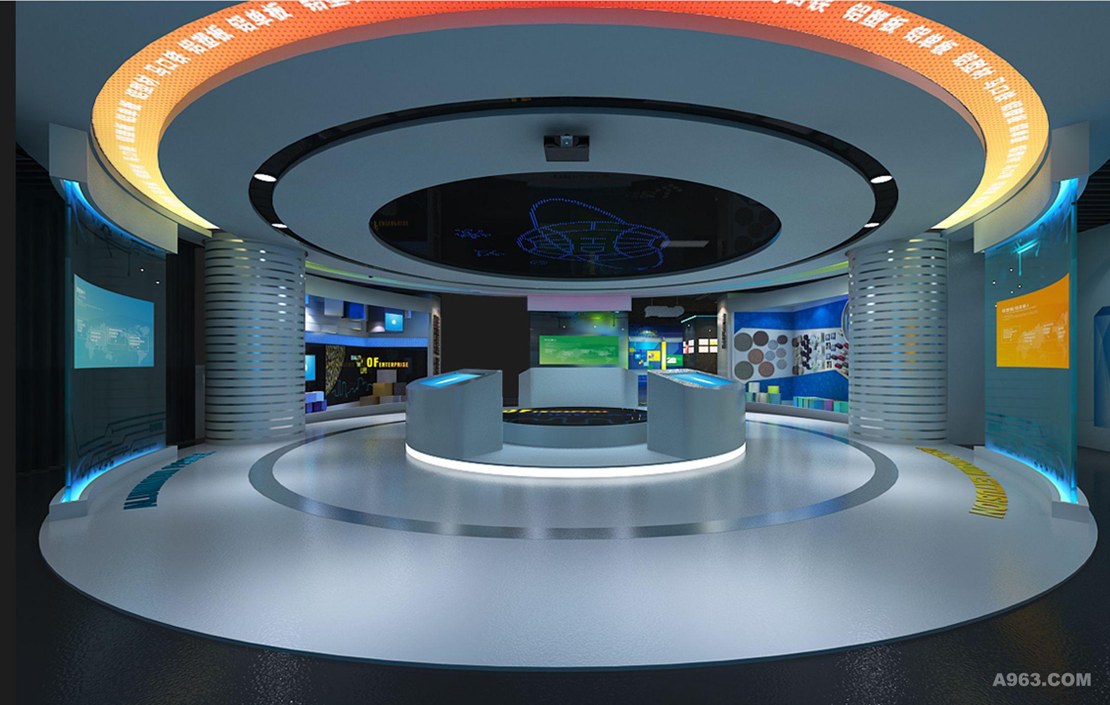 产品,品牌文化,远景规划,休息室,多功能厅6大分区,运用新颖的互动展示